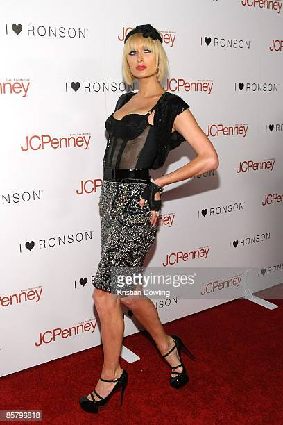 Paris Hilton attends the 'I Heart Ronson' event Bar Marmont 3 April 2009 in Hollywood California
