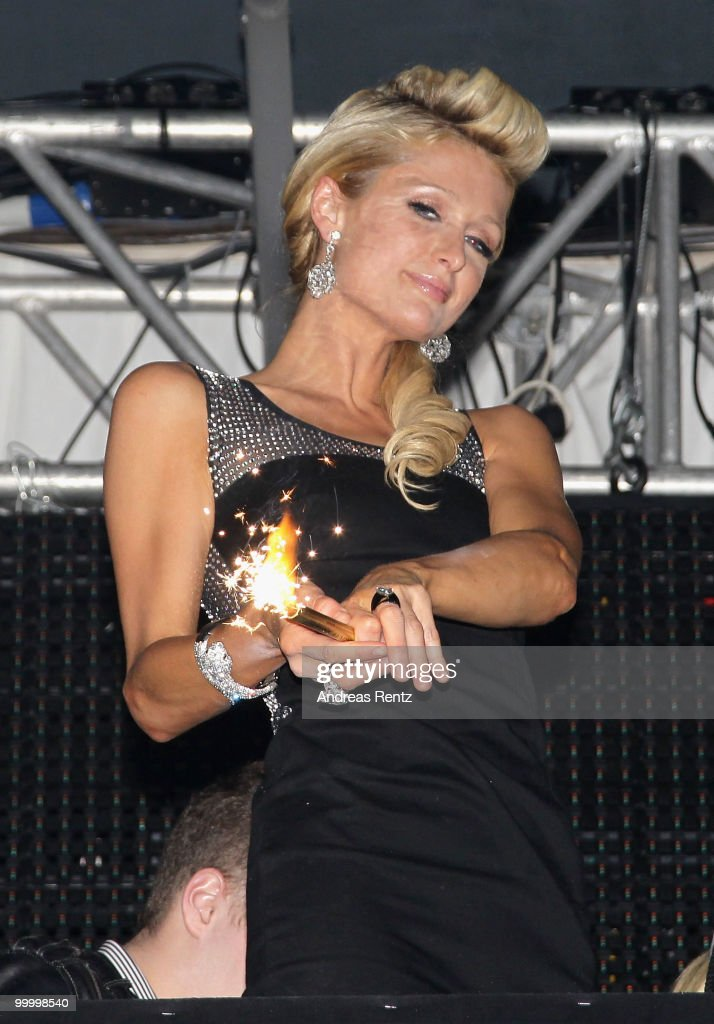Paris Hilton attends the Jolouse Host Party Night during the 63rd Annual Cannes Film Festival at VIP Club on May 19, 2010 in Cannes, France.