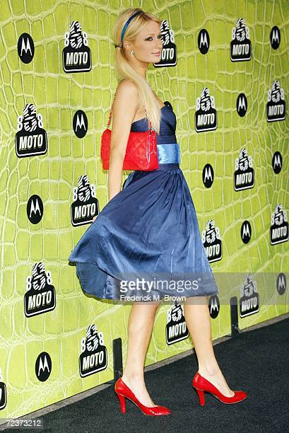 Paris Hilton attends the Motorola Celebrates Eight Years in Hollywood at The Hollywood Palladium on November 2 2006 in Hollywood California