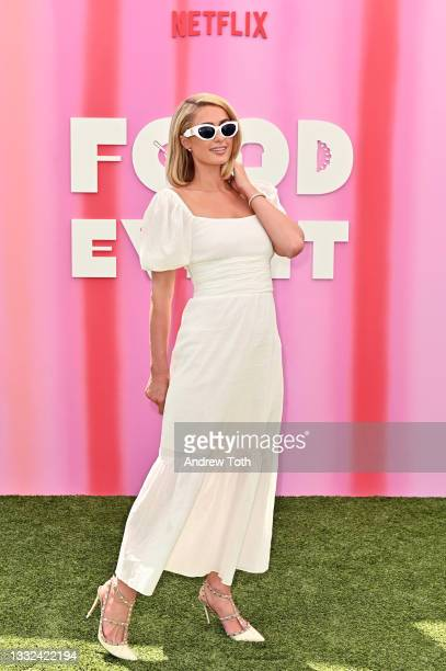 Paris Hilton attends the Netflix Food Event at The London West Hollywood at Beverly Hills on August 04, 2021 in West Hollywood, California.
