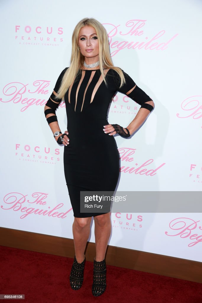 Paris Hilton attends the premiere of Focus Features' 'The Beguiled' at the Directors Guild of America on June 12, 2017 in Los Angeles, California.