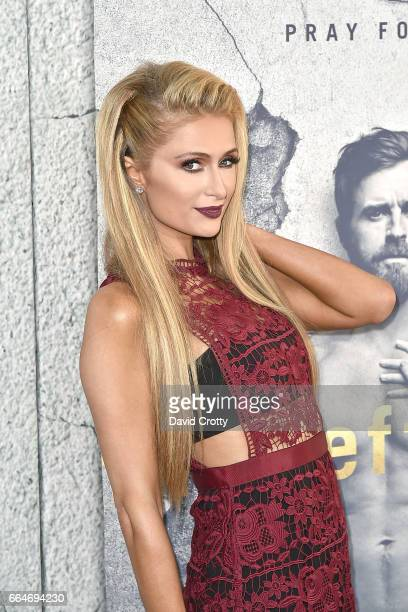 Paris Hilton attends the Premiere Of HBO's The Leftovers Season 3 Arrivals at Avalon Hollywood on April 4 2017 in Los Angeles California