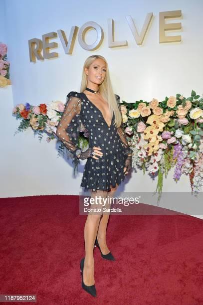 Paris Hilton attends the #REVOLVEawards 2019 at Goya Studios on November 15, 2019 in Hollywood, California.