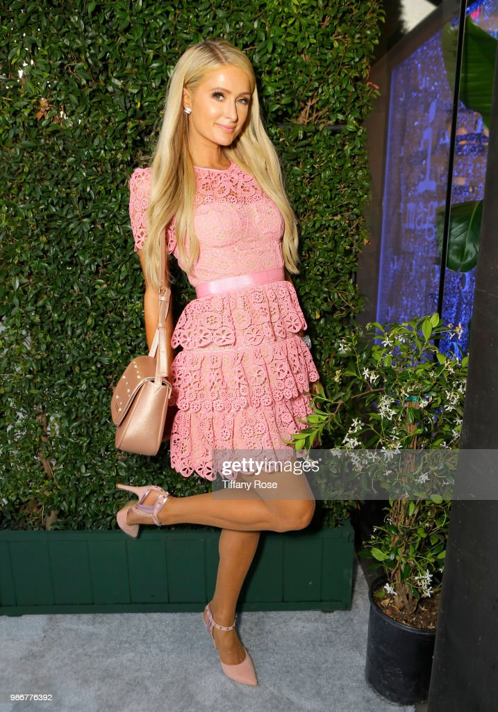 Paris Hilton attends the TOTALEE launch at TOTALEE on the Alley on June 28, 2018 in Beverly Hills, California.