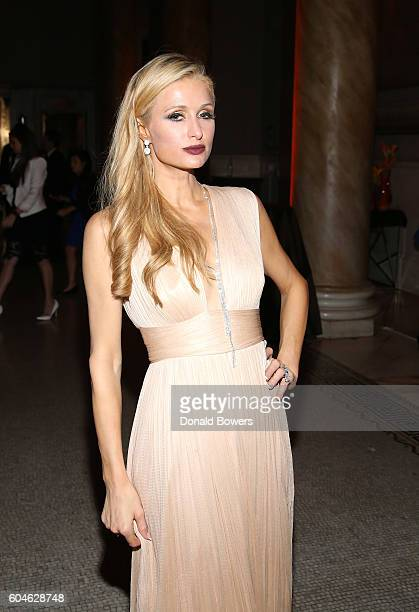 Paris Hilton attends the UNITAS 2nd annual gala against human trafficking at Capitale on September 13 2016 in New York City