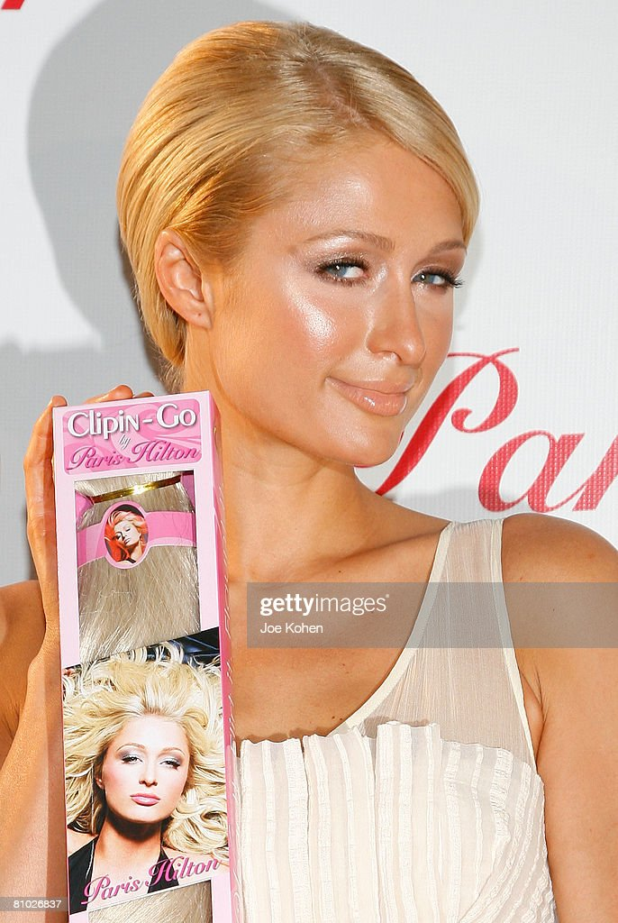 Paris Hilton Unveils Her New Hair Extension Line For Sally Beauty