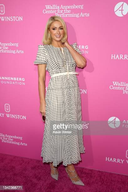 Paris Hilton attends The Wallis Delivers: Al Fresco Night presented by The Wallis Annenberg Center for the Performing Arts at Wallis Annenberg Center...