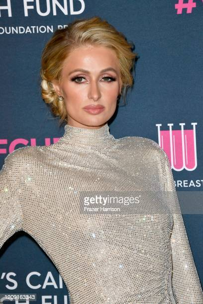 Paris Hilton attends The Women's Cancer Research Fund's 'An Unforgettable Evening' at Beverly Wilshire A Four Seasons Hotel on February 27 2020 in...