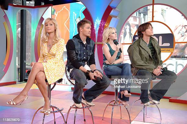 Paris Hilton Chad Michael Murray Elisha Cuthbert and Jared Padalecki