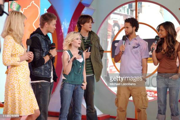 Paris Hilton Chad Michael Murray Elisha Cuthbert Jared Padalecki Quddus and Vanessa Minnillo