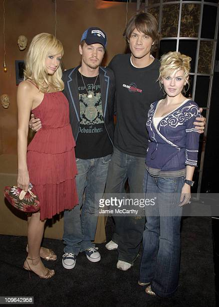Paris Hilton Chad Michael Murray Jared Padalecki and Elisha Cuthbert