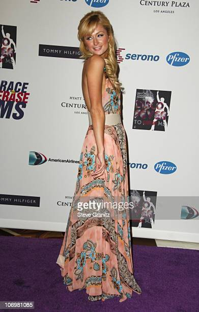 Paris Hilton during 13th Annual Race to Erase MS Sponsored by Nancy Davis and Tommy Hilfiger - Arrivals at Hyatt Regency Century Plaza in Century...