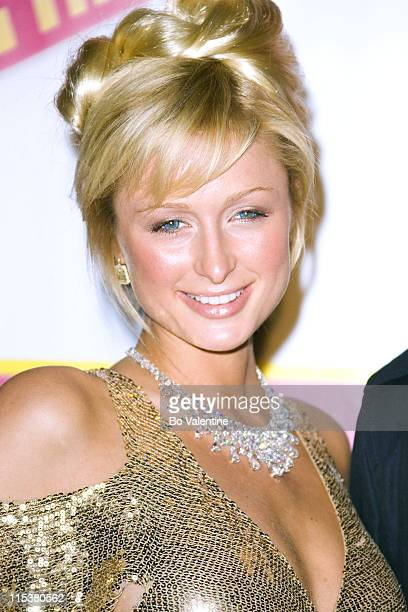 Paris Hilton during 2005 Cannes Film Festival 'National Lampoon's Pledge This' Party at Baoli in Cannes France