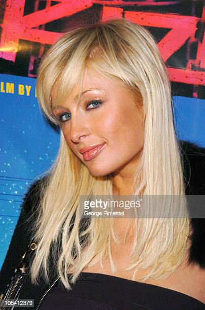 """Paris Hilton during 2005 Sundance Film Festival - """"Rize"""" After Party at The Gateway Center in Park City, Utah, United States."""