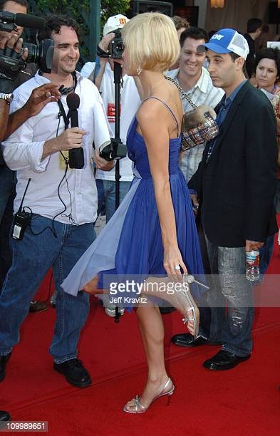 Paris Hilton during 2005 Teen Choice Awards Arrivals at Gibson Amphitheater in Universal City California United States