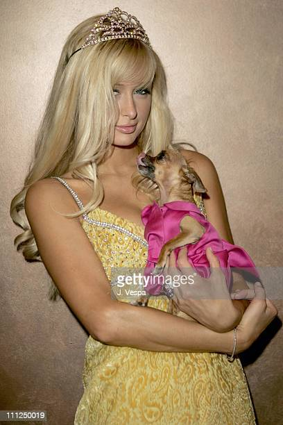 Paris Hilton during 2005 West Hollywood Gay Pride Parade in West Hollywood California United States