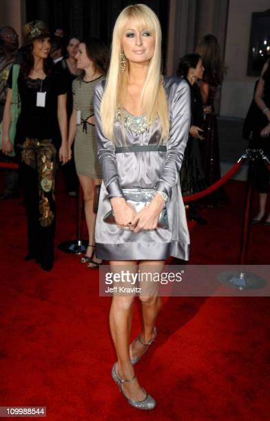 Paris Hilton during 2006 American Music Awards Arrivals at Shrine Auditorium in Los Angeles California United States