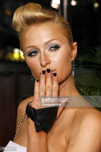 Paris Hilton during 2006 MTV Video Music Awards Arrivals at Radio City Music Hall in New York City New York United States