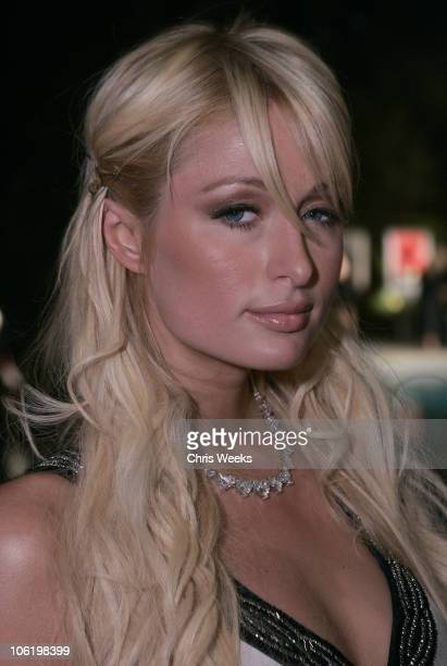 Paris Hilton during Andy Valmorbida and Brandon Davis Present Raphael Mazzucco at Private Residence in Beverly Hills, California, United States.