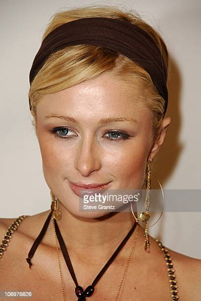 Paris Hilton during Brandon Davis and Italian Clothing Brand Replay Celebrate the Opening of Their Los Angeles Store Arrivals at Falcon in Los...