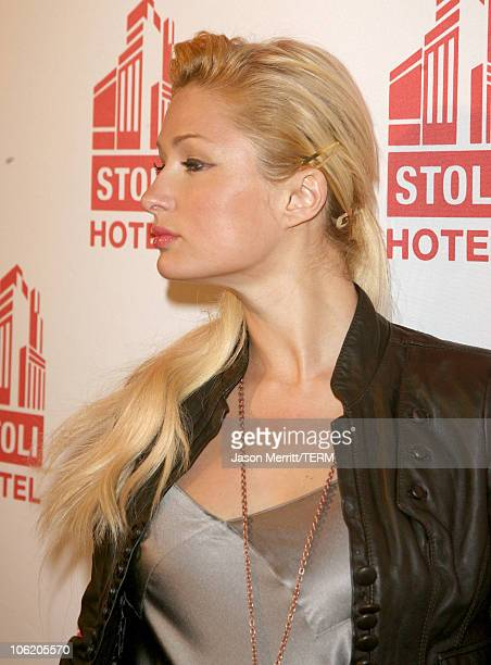 Paris Hilton during Grand Opening of the Stoli Hotel in Hollywood May 2 2007 at Stoli Hotel in Hollywood California United States