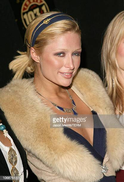 Paris Hilton during Hedwig and The Angry Inch at The Roxy Theatre Arrivals and Show at The Roxy Theatre in Hollywood California United States