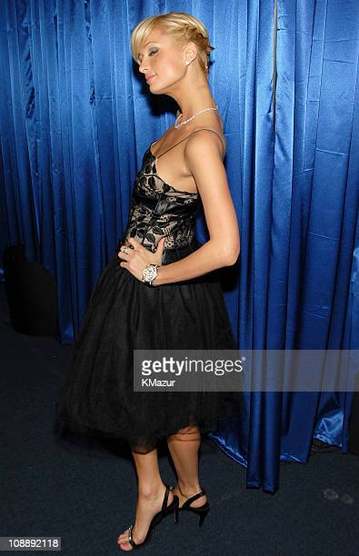 Paris Hilton during InStyle & Warner Bros. 2006 Golden Globes After Party - Inside at Beverly Hilton in Beverly Hills, California, United States.