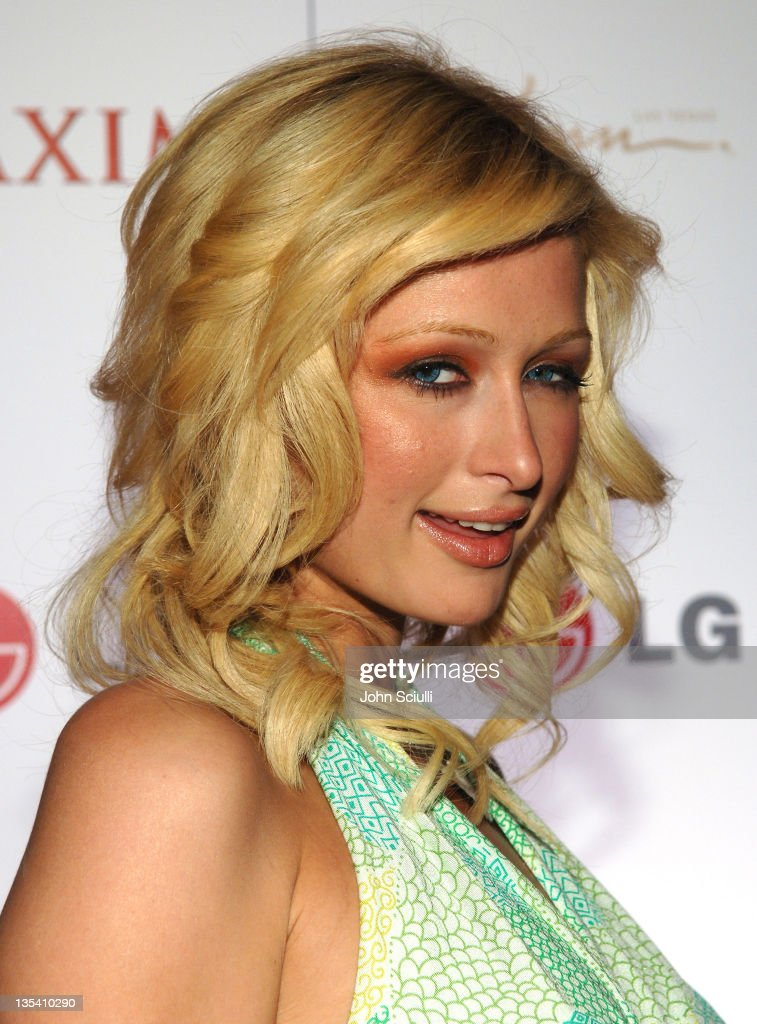 Paris Hilton during Maxim 100th Issue Weekend - Poker Tournament in Las Vegas, Nevada, United States.