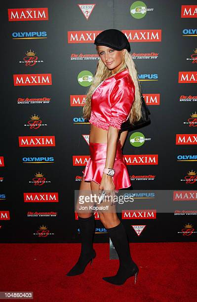 Paris Hilton during Maxim Magazine's Annual Hot 100 Party at 1400 Ivar in Hollywood, CA, United States.