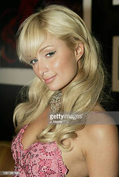Paris Hilton during Nicky Hilton Celebrates her 21st Birthday at Hard Rock Cafe Hotel and Casino October 16 2004 at Hard Rock Cafe Hotel And Casino...