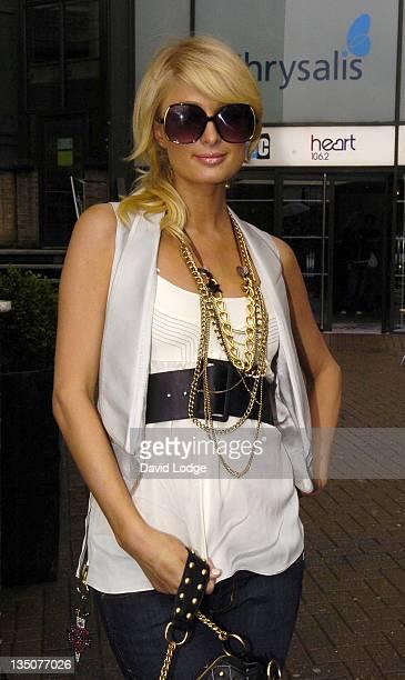 Paris Hilton during Paris Hilton Sighting at Heart FM in London June 26 2006 at Heart FM in London Great Britain