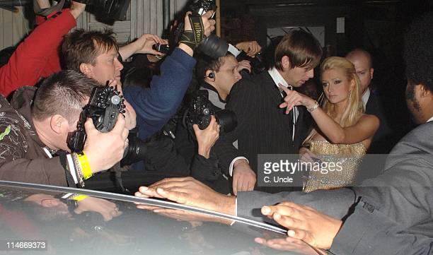 Paris Hilton during Paris Hilton Sighting in London - November 15, 2006 at Boujis in London, Great Britain.