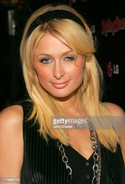 Paris Hilton during Rolling Stone Magazine Celebrates their 2006 Annual Hot List - Red Carpet at Stone Rose in Los Angeles, California, United States.