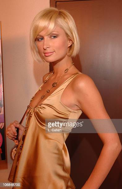 Paris Hilton during Teen People Celebrates 2nd Annual Young Hollywood Issue Sponsored by EA Games and Baby Phat Red Carpet at Cabana Club in...