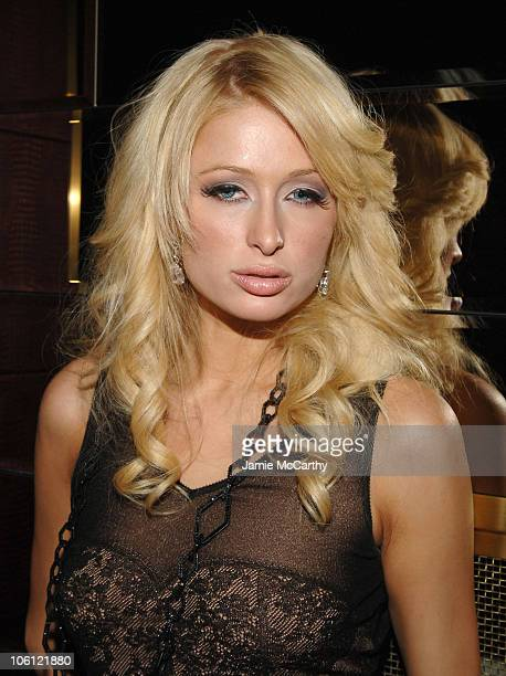Paris Hilton during The Playboy Club Vip Grand Opening at The Palms Hotel and Casino at The Playboy Club The Palms Hotel and Casino in Las Vegas...