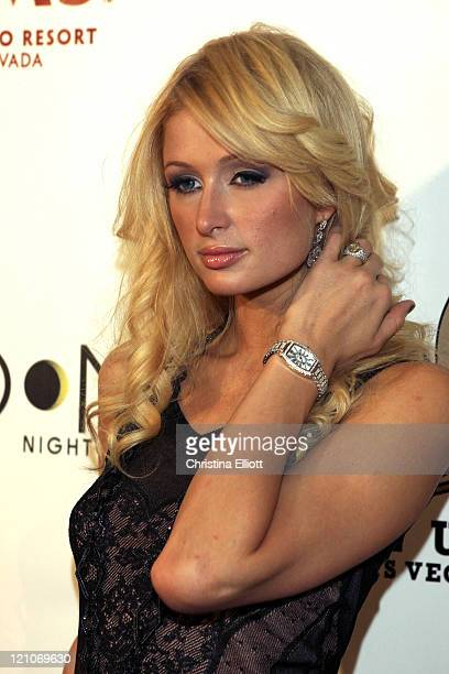 Paris Hilton during The Playboy Club Vip Grand Opening at The Palms Hotel and Casino Arrivals at Palms in Las Vegas Nevada United States