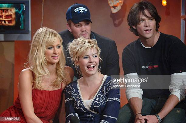 Paris Hilton Elisha Cuthbert Chad Michael Murray and Jared Padalecki
