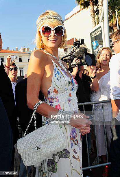 Paris Hilton is seen during the 62nd International Cannes Film Festival on May 19, 2009 in Cannes, France.