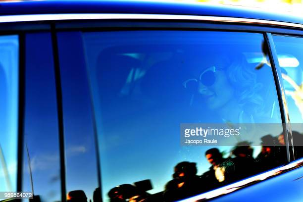 Paris Hilton is seen during the 71st annual Cannes Film Festival at on May 17 2018 in Cannes France