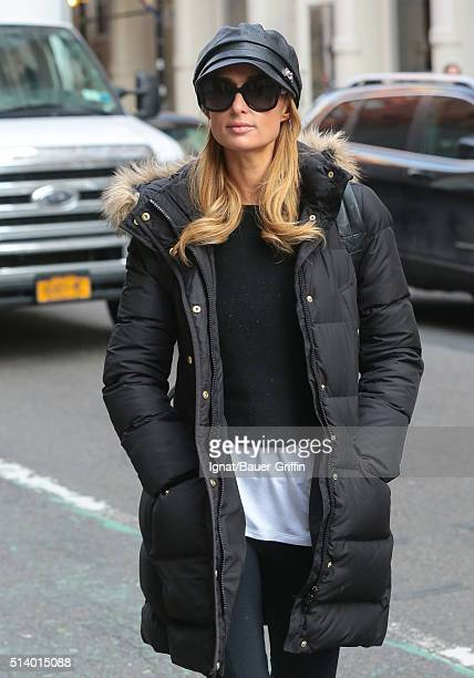 Paris Hilton is seen on March 05 2016 in New York City