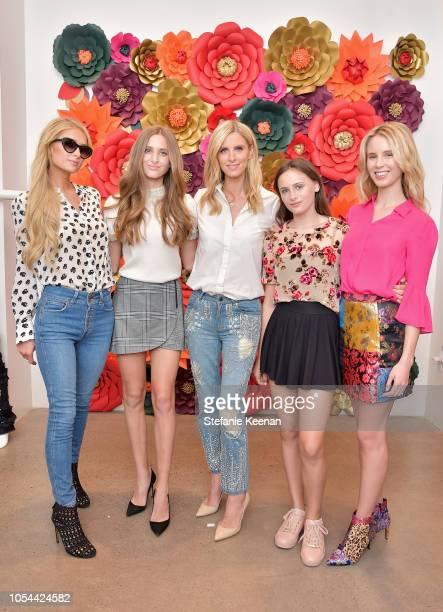 Paris Hilton Isabella Rickel Nicky Hilton Rothschild Mariella Rickel and Tessa Hilton attend Nancy Davis Kathy Hilton Paris Hilton Nicky Rothschild...