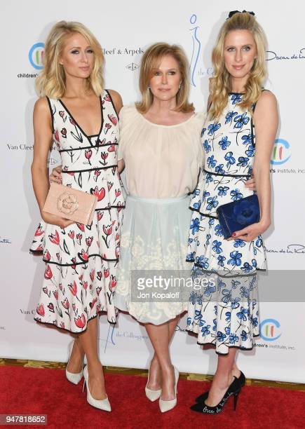 Paris Hilton Kathy Hilton and Nicky Hilton attend The Colleagues And Oscar de la Renta's Annual Spring Luncheon at the Beverly Wilshire Four Seasons...