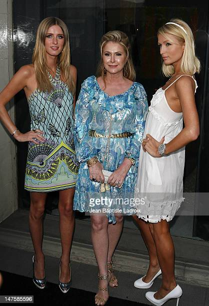 """Paris Hilton, Kathy Hilton and Nicky Hilton attends the opening of """"The Good Life"""" photographs by Murray Garrett and Slim Aarons at the Photographers..."""