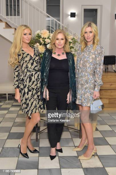 Paris Hilton, Kathy Hilton and Nicky Hilton Rothschild attend Fashion In La Book Launch Celebration at Private Residence on November 05, 2019 in...