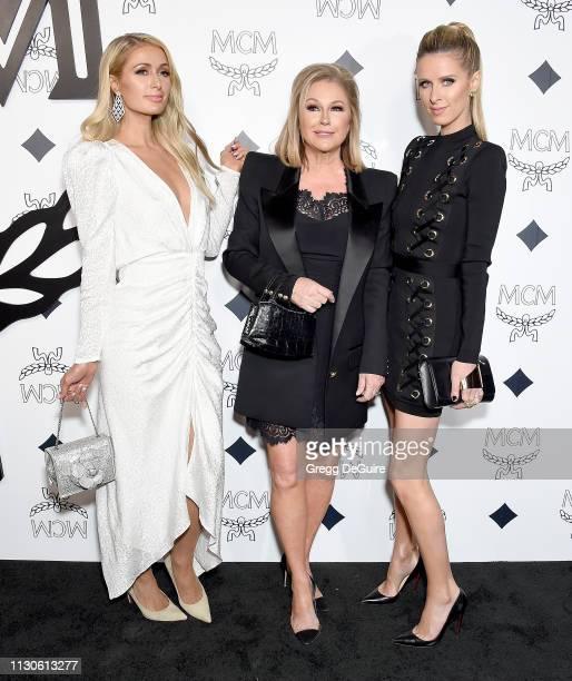 Paris Hilton, Kathy Hilton, and Nicky Hilton Rothschild attend MCM Global Flagship Store Grand Opening On Rodeo Drive at MCM Global Flagship Store on...