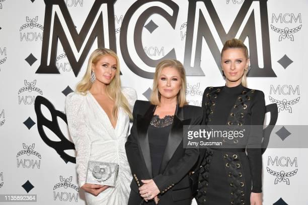 Paris Hilton, Kathy Hilton and Nicky Hilton Rothschild attend MCM Global Flagship Store Grand Opening On Rodeo Drive at MCM Global Flagship Store on...