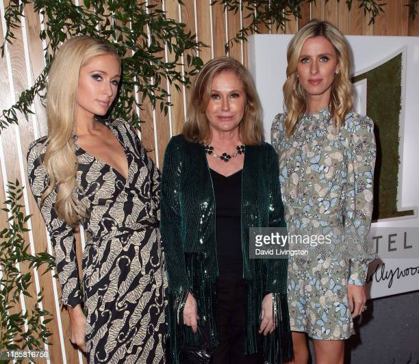 Paris Hilton Kathy Hilton and Nicky Hilton Rothschild attend the 1 Hotel West Hollywood grand opening event at 1 Hotel West Hollywood on November 05...