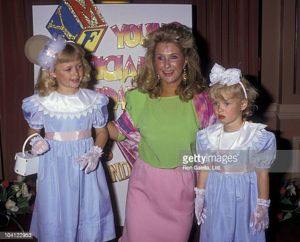 Paris Hilton, Kathy Hilton, Ricky Hilton and Nicky Hilton attend Mother-Daughter Fashion Show Benefit on March 26, 1987 at the Beverly Hilton Hotel...