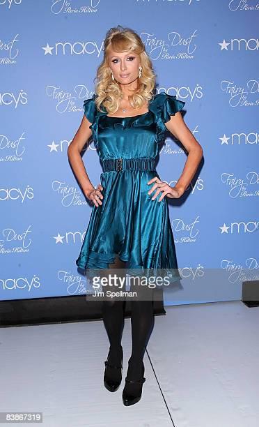 "Paris Hilton launches ""Fairy Dust by Paris Hilton"" at Macy's Woodbridge Center on November 30, 2008 in Woodbridge, New Jersey."