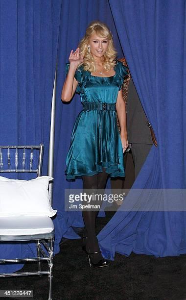 Paris Hilton launches her new fragrance Fairy Dust by Paris Hilton at Macy's Woodbridge Center on November 30, 2008 in Woodbridge, New Jersey.